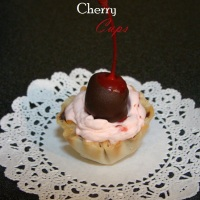 Chocolate Covered Cherry Cups